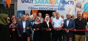 Başkan Toçoğlu, AK Parti Seçim İrtibat Bürosu'nun açılışına katıldı