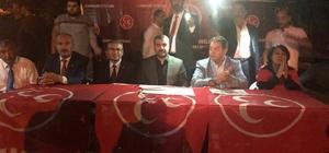 "MHP'li Avşar ""24 Haziran'da MHP'de buluşalım"""
