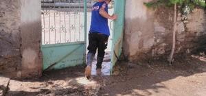 Sungurlu'daki su baskınlarına AFAD'tan müdahale