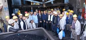 Ayan, Armutçuk'ta madencilere seslendi