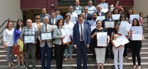 Eskişehir okullarından büyük başarı eTwinning faaliyetlerinde Eskişehir damgası Proje sahiplerine ve okul müdürlerine belgeleri verildi