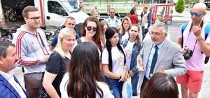 İnönü, Litvanyalı misafirlerini ağırlıyor Başkan Bozkurt bir ilki daha başardı