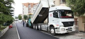 Odunpazarı'nda asfalt ve tretuvar çalışması