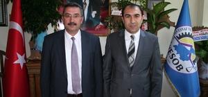 Müdür Göksoy'dan Başkan Berge'ye ziyaret