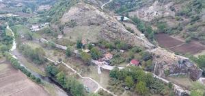 Tekkeköy Mağaraları turist çekiyor