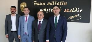 Kayseri Gazeteciler Cemiyeti'ne ziyaretler sürüyor