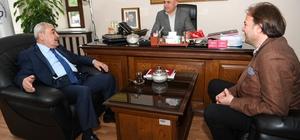 MHP adayları, Ali Korkut'u ziyaret etti