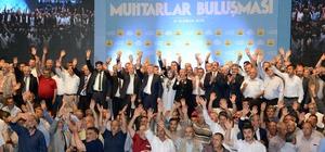 """Konya'da """"Muhtarlar Buluşması"""" düzenlendi"""