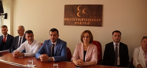 Aydın MHP seçim çalışmalarını değerlendirdi