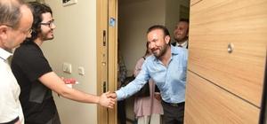 Başkan Doğan, ilk kez oy kullanacak gençleri ziyaret etti