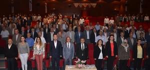 """""""İmar Barışı"""" bilgilendirme toplantısı yapıldı Bilecik Çevre ve Şehircilik İl Müdürü Mustafa Budak; """"Ruhsatsız veya ruhsata aykırı imarsız yapılar artık kayıt altına alınacak"""""""