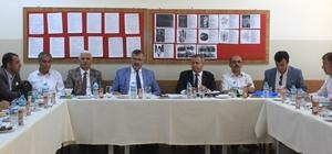 Van'da 'taşımalı eğitim' konulu toplantı