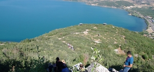 SDÜ'den oksijen deposu Kızıldağ'da 'Doğa Eğitimi'