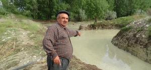 Bolu'da, şiddetli yağmur ve dolu tarladaki ürünlere zarar verdi Bir saat süren yağmurun bilançosu ağır oldu
