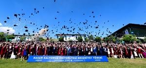 HKÜ' de mezuniyet coşkusu