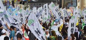 HDP Mardin'de miting yaptı Ahmet Türk miting alanının boş olmasını baskılara bağladı