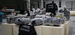 Kayseri'de 234 kilogram eroin ele geçirildi