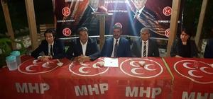 """MHP'li Avşar: """"MHP'yi Mecliste güçlü konuma getireceğinizden eminiz"""""""