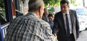 Bu milletvekili adayı bir başka çalışıyor Ziyaret ettiği herkesten oy sözü alıyor