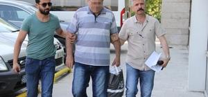 Samsun'da FETÖ'den gözaltına alınan emekli polis adliyeye sevk edildi