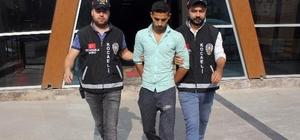 Kamyonet hırsızı tutuklandı
