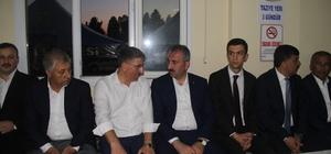 Adalet Bakanı Gül'den eski milletvekiline taziye ziyareti Adalet Bakanı Gül 2 yeğeni Fırat Nehri'nde boğulan eski milletvekiline taziye ziyaretinde bulundu