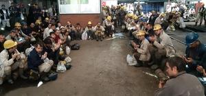Üzülmez'de madenci kurban kesti