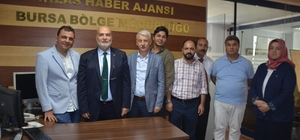 """Yelis, İHA'yı ve Türkiye Gazetesini ziyaret etti Yelis: """"Meclis'te tüm Türkiye'nin sesi olacağım"""""""