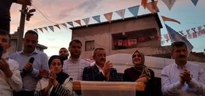 AK Parti'ye Bahçelievler'de sevgi seli