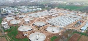 Gaziantep'teki atık su tesisi yıl sonunda bitiyor