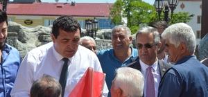 """Karasu, """"Göçü durduracağız"""" CHP Sivas 1.sıra milletvekili adayı Ulaş Karasu, CHP'nin tek başına iktidarı ile Sivas'ta göçün durdurulacağını söyledi."""