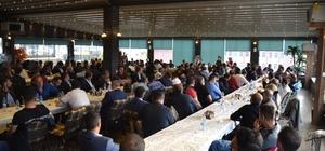 Milletvekili Taşkesenlioğlu, hak iş konfedarasyonu üyeleriyle biraraya geldi
