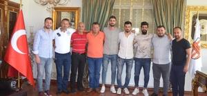 Selçuk İnan ve İsmail Köybaşı'nın yetiştiği kulüpte hedef 3. Lig Mehmet Karakeçili, Haşim Ateş ve Samet Dinçer ile 1'er yıllık sözleşme imzalandı