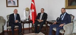 Galatasaray'ın 21. şampiyonluk kupası Konya'da