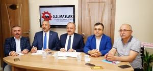 """Maslak Yeni Küçük Sanayi Sitesinde mutlu son Kastamonu Belediye Başkanı Tahsin Babaş; """"350 milyon TL yatırımla yeni sanayi sitesi kurulacak"""" """"2020 yılında eski ve yeni sanayi sitelerini taşıyacağız"""""""