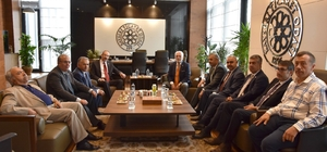 AK Parti Grup Başkan Vekili Mustafa Elitaş, KTO'yu ziyaret etti
