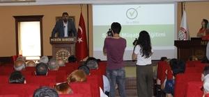 Mersin'de 'Her Okula Bir Avukat' projesi