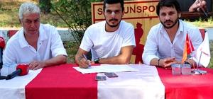 Samsunspor'da 1 günde 2 transfer birden Samet Asatekin, Samsunspor ile 2 yıllık sözleşme imzaladı