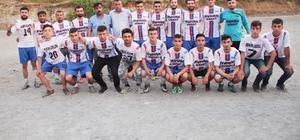 Köylerarası düzenlenen futbol turnuvası şampiyonu belli oldu