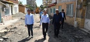 Başkan Çınar, çalışmaları inceledi