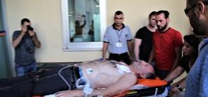 Antalya'da eski ilçe emniyet müdürü silahla yaralandı