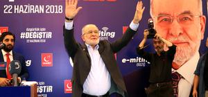Saadet Partisi Genel Başkanı ve cumhurbaşkanı adayı Temel Karamollaoğlu: