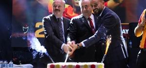 """Konya'da Galatasaray 21. şampiyonluğunu kutladı Galatasaray Başkanı Mustafa Cengiz: """"Galatasaray dünyada yaklaşık 100 milyon sempatizanı olan dev bir camiadır"""""""