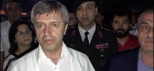 """Göçükte kalan işçilerle ilgili mutlu haberi Vali açıkladı Zonguldak Valisi Ahmet Çınar: """"Yüzlerini de yıkadılar, durumları iyi. Birazdan inşallah çıkaracaklar. Her şey normal"""""""