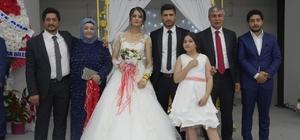 Başkan Aksoy'un oğlu dünya evine girdi