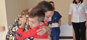 Makedonya'da tedavi imkanı bulamadığı hastalığı için Türkiye'ye geldi Epilepsi hastası 8 yaşındaki Makedonyalı, Düzce'de tedavi edilecek Makedonya'da tedavi imkanı bulamayan ailenin umudu Düzce Üniversitesi oldu