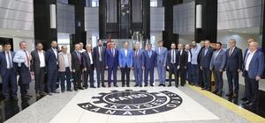 KAYSO'DA Haziran Ayı Meclis Toplantısı Bakan Özhaseki'nin katılımıyla yapıldı