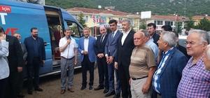 Simav'a termal otel Simav'da yüklenici firma tarafından ihalesi alınan 20 milyon 950 bin liralık termal otelin temel öncesi hafriyat çalışmaları başlatıldı