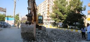 Kızıltepe ilçe merkezinin yol sorunu bitiyor