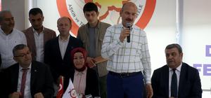 Bakan Soylu, Amasyalılarla buluştu